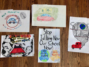 Kids Work to Stop Climate Change One Poster at a Time