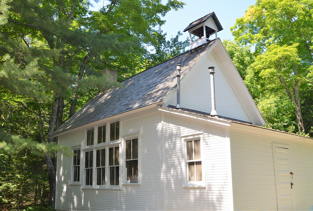 The one-room schoolhouse on South Manitou Island