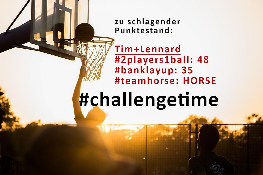 Challenges verlängert bis 29.11.   Basketball Schwerin