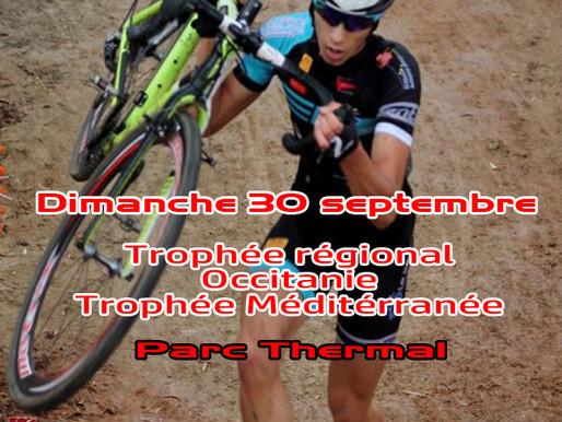 16è cyclo-cross du Boulou 27 septembre 2020
