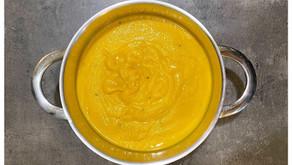 Mrkvová polievka s kokosovým mliekom