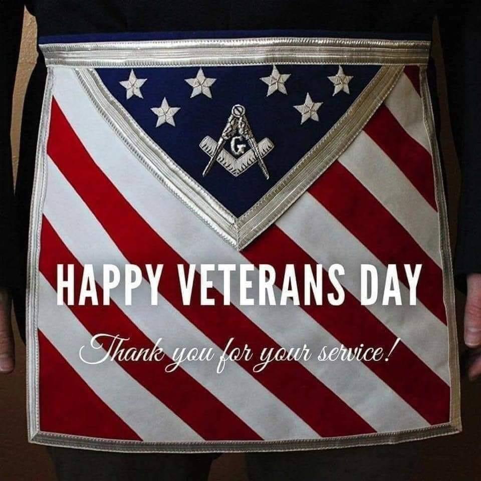 Happy Veterans Day | Thanks, Bro.'. George Ferguson