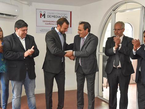 Habilitan un Centro Comunitario de Mediación para la resolución de conflictos complejos