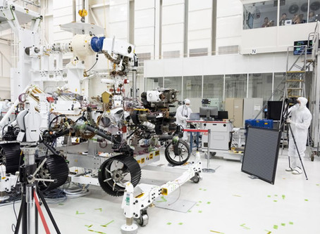 AM&S Supporting Exploration | MARS 2020 Mission