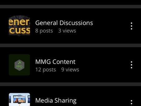 MMG Forums Update