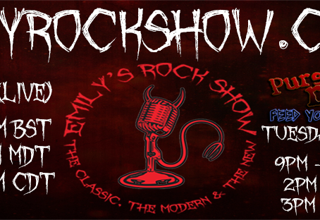 (Podcast) Emily's Rock Show (08/30 + 09/01)