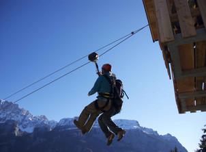 La Zipline più lunga delle Dolomiti con e-bike e Super Guida a Selva di Cadore