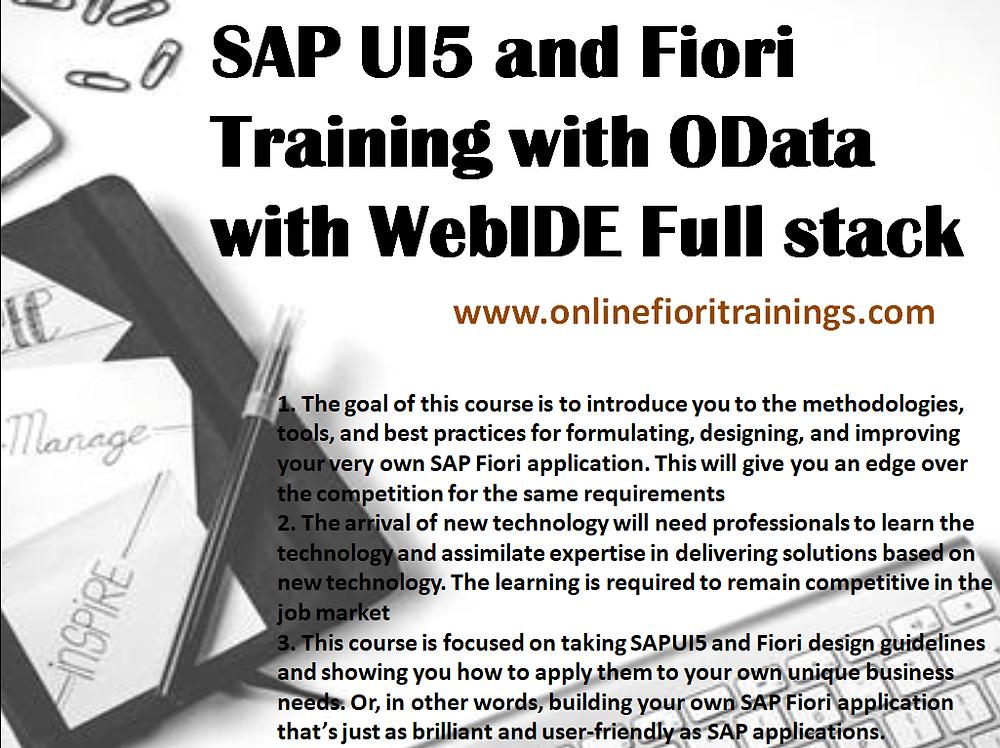 SAP fiori launchpad training