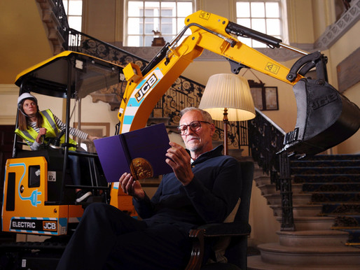 British engineering icons: from the CT scanner to the world's first electric digger