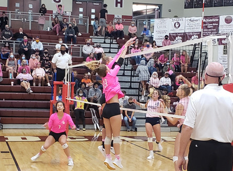 Lady 'Cats fall to Farragut in five-set stunner