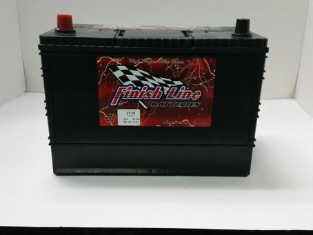 Finish Line Auto Batteries