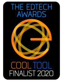 The EdTech Awards Finalist Badge - AI Solution.