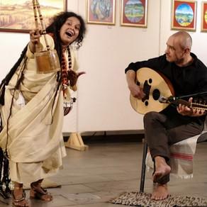 Chants d'offrandes (Gitanjali) – Tagore & Lalan | Concert de Parvathy Baul et Béla Wittek en Hongrie