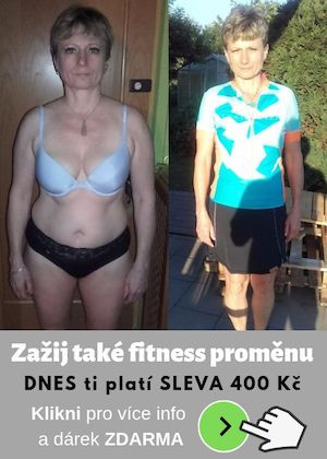 Fitness členství a hubnutí s Dančou