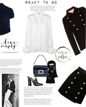 The classic Military look – mood board and photos