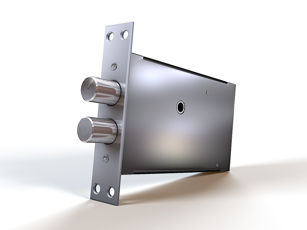 Product 3D Rendering for the lock