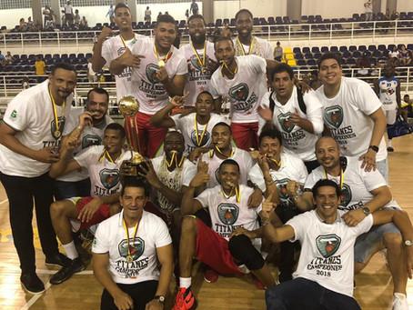Titanes campeones de la Liga Profesional de Baloncesto