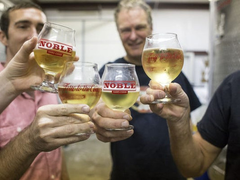 Noble Cider's new facility in West Asheville