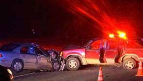 One person hurt following head-on collision in Horsepasture