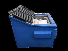 miniQube Container Compactor Side Open Image