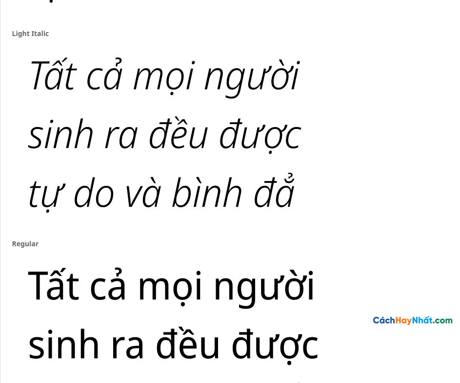Font Noto Sans Display