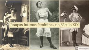 Roupas íntimas femininas - Século XIX