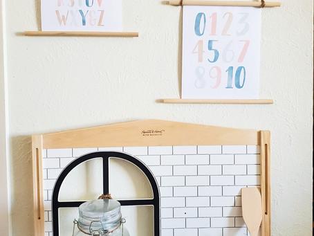 DIY Kids Bedroom/Playroom Wall Decor! SUPER SIMPLE!