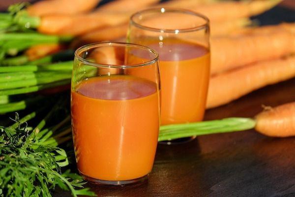 Recept na mrkvové smoothie s jablky