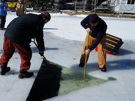 3/16 & 3/17 Ice Dive on Lake Keesus