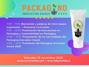 ¡Packaging Innovation Awards cuenta con sus 3 finalistas!