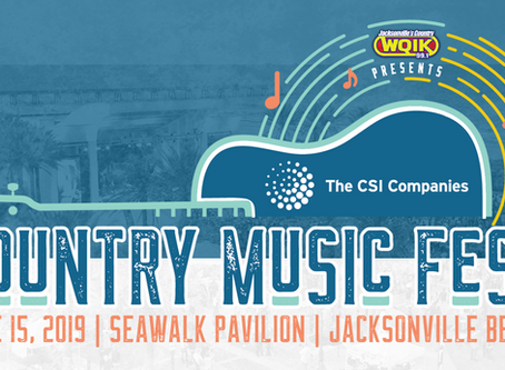 The CSI Companies Country Music Fest set for Seawalk Pavilion on June 15