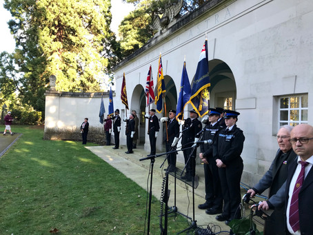 Ceremony at Brookwood Military Cemetery