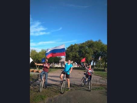 День Российского флага отметили в селах нашего района
