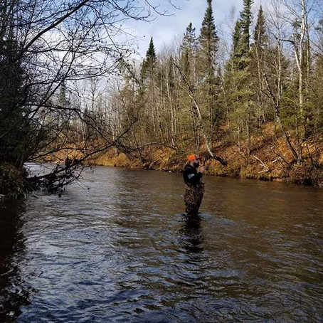 Troutin' on the Brule River