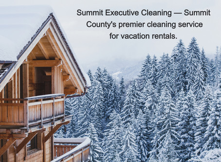 Summit Executive Cleaning - Vacation Rental Cleaning