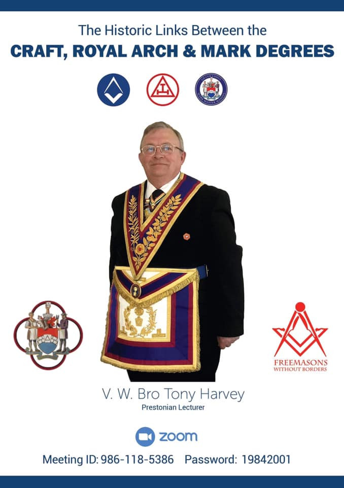 Freemasonry - If you haven't got anything planned for 5.00 pm BST on 23rd June ...