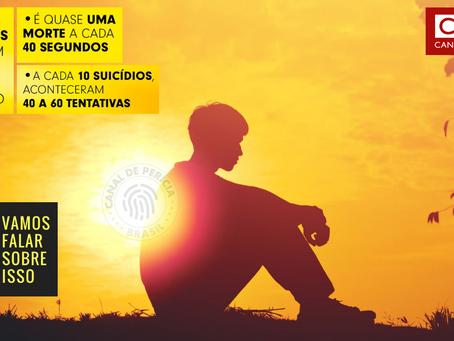 Setembro Amarelo: Suicídio mata 800 mil pessoas por ano no mundo
