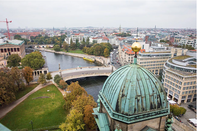 View over Berlin Museum Island