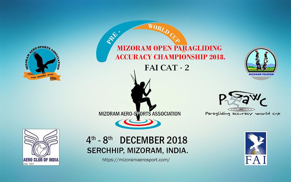 Mizoram Paragliding Accuracy Championship