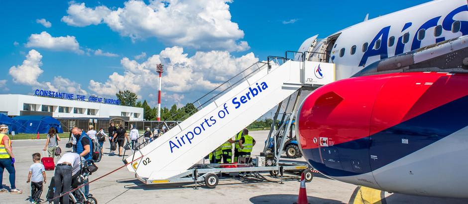 Air Serbia obnovila saobraćaj na liniji Niš-Tivat