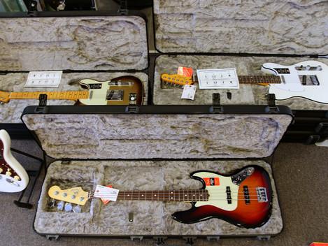 Fenders Ultra-serie, nu i lager. Snygga som attan:)