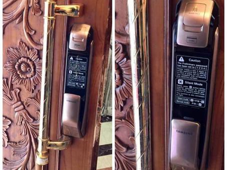 Antique Luxury Pull Handle/Samsung Smart Lock