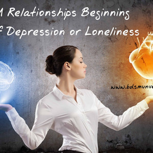 Beginning a BDSM Relationship out of Depression or Loneliness