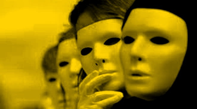 maschere, vita, pirandello, falsità, paura, stress,ansia,allegria