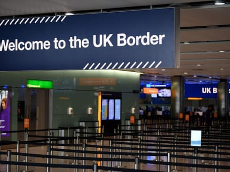 12% of UK immigration staff had Covid-19 symptoms from January to April