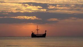 Следы скандинавских викингов на эстонском острове Сааремаа