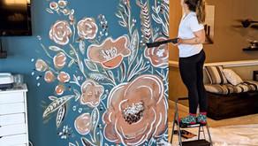 Floral Mural!