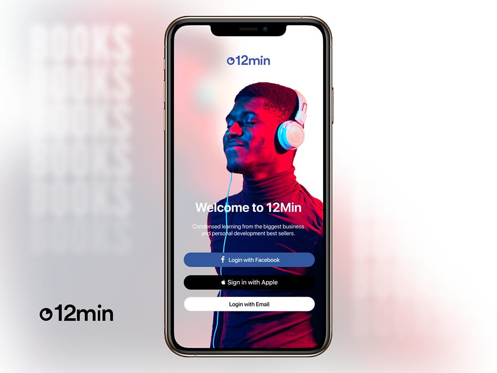 12min Music App Concept