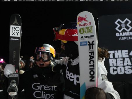Tess Ledeux, Jamie Anderson Make History at Winter X