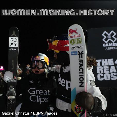 Tess Ledeux, Jamie Anderson Make History at Winter X